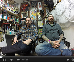 DJ Rose & Chris Lain Tattoo Artist Interview Video