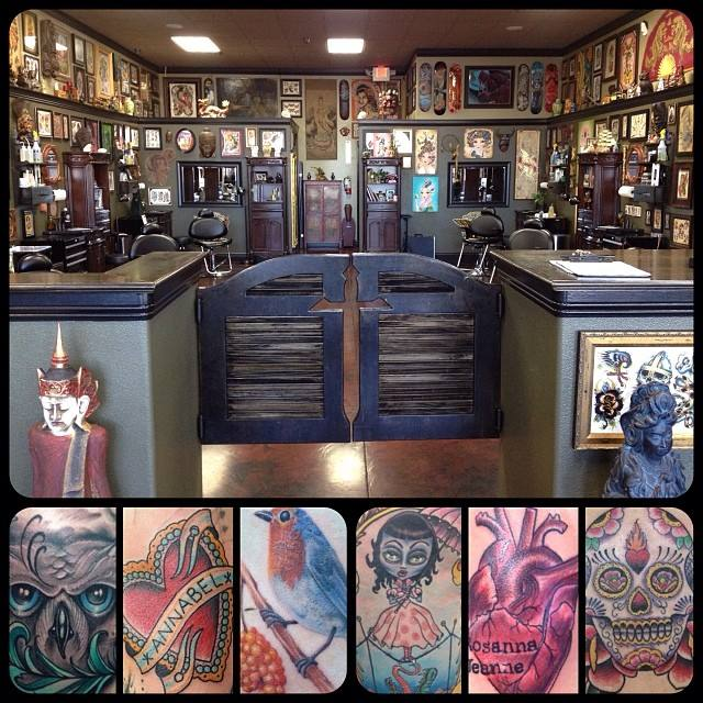 Broken dagger tattoo parlor tattoo shop reviews for Tattoo shops in idaho