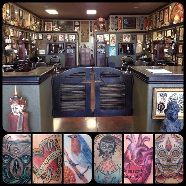 Broken dagger tattoo parlor tattoo shop reviews for Best tattoo shops in vegas