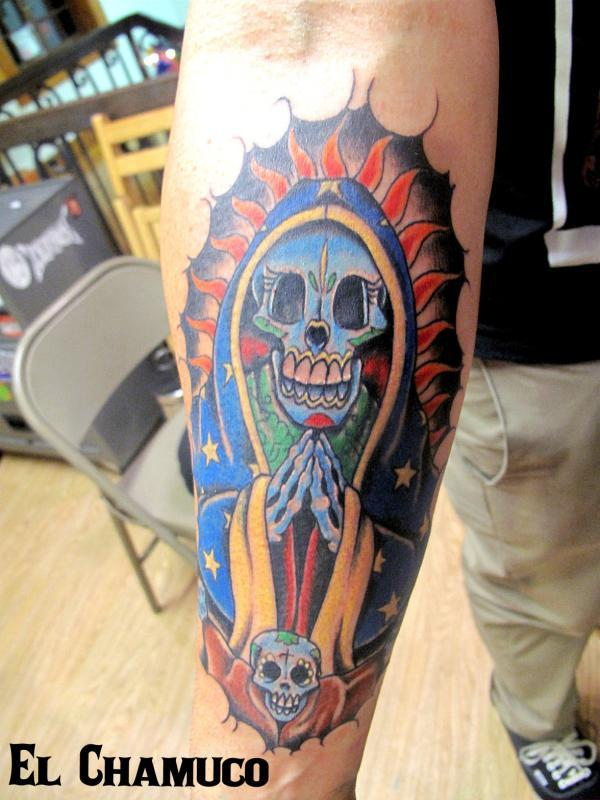 Troy s arm by El Chamuco