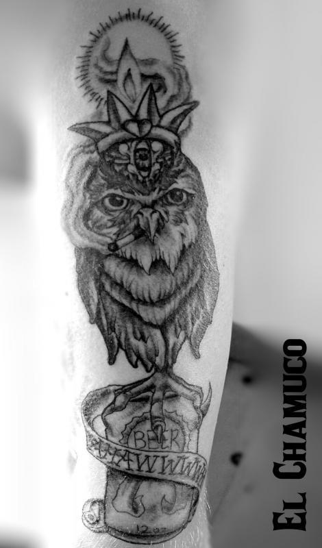 Austin s Owl by El Chamuco