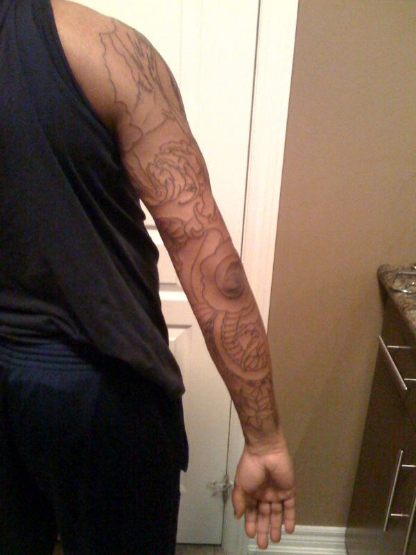 dragon sleeve