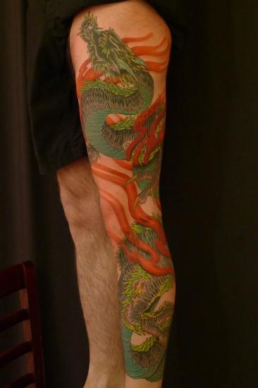 Dragon leg piece