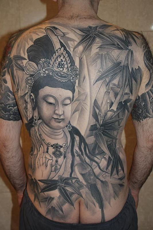Ching from East Tattoo backpiece