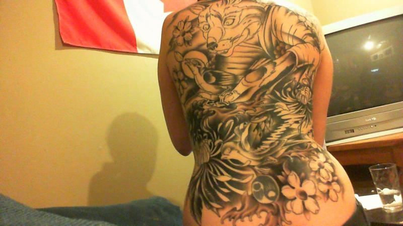 back piece in progress