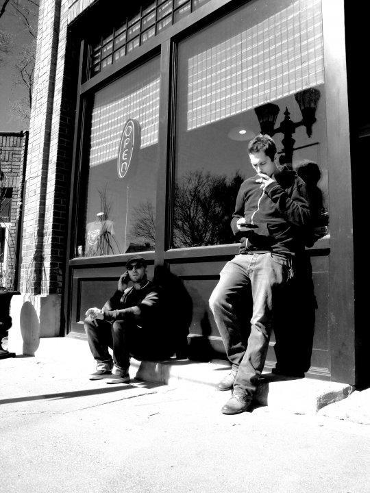 outside shop
