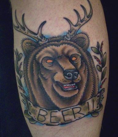 bear unheal front