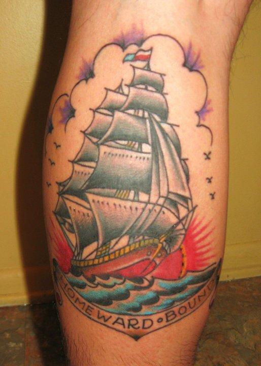Kevin Poon/Sailor Jerry ship