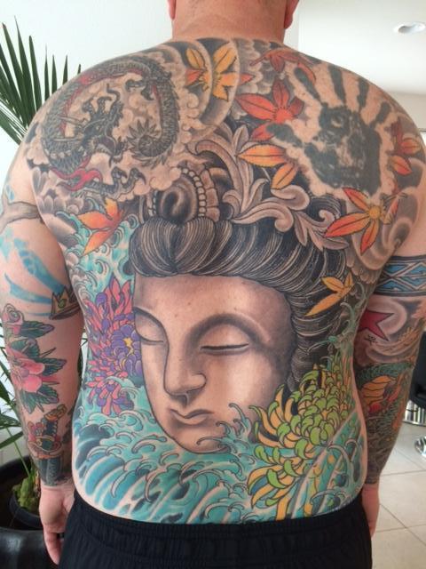 Kwan Yin Back Piece