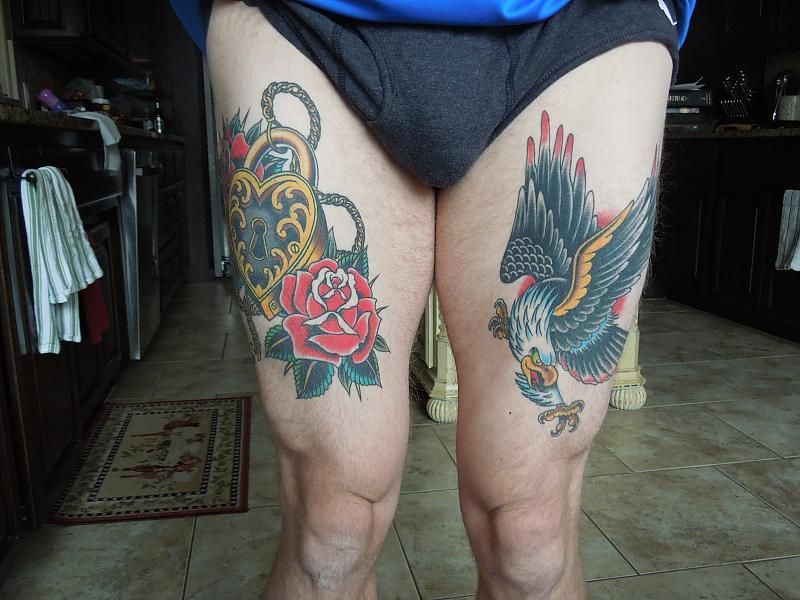 healed thighs