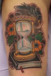 my time tattoo