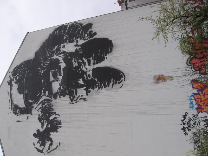 Banksey piece