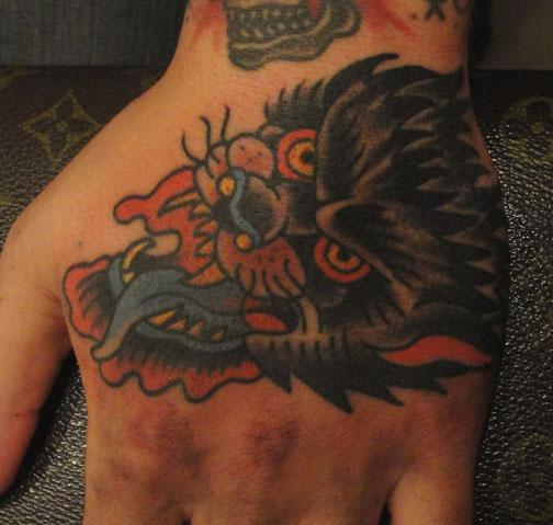 wolfman hand