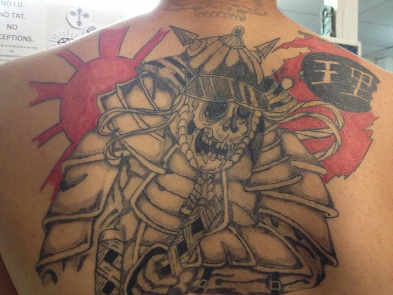 Samurai coverup