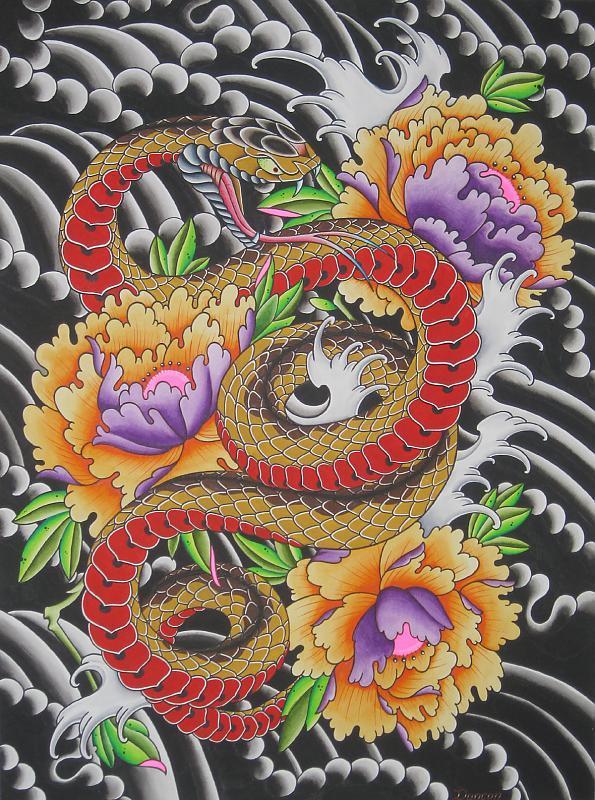 snake paint