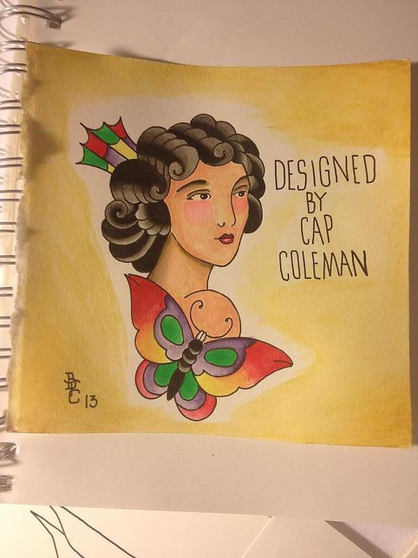 Repaint of Cap Coleman