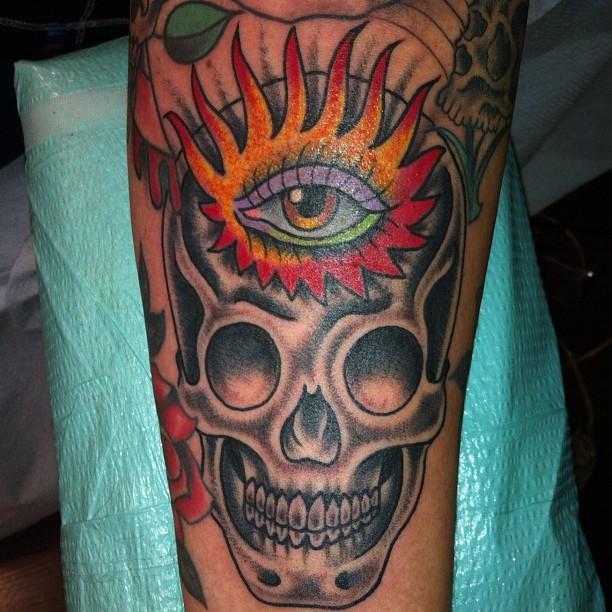 Skull By Lindsey Carmichael