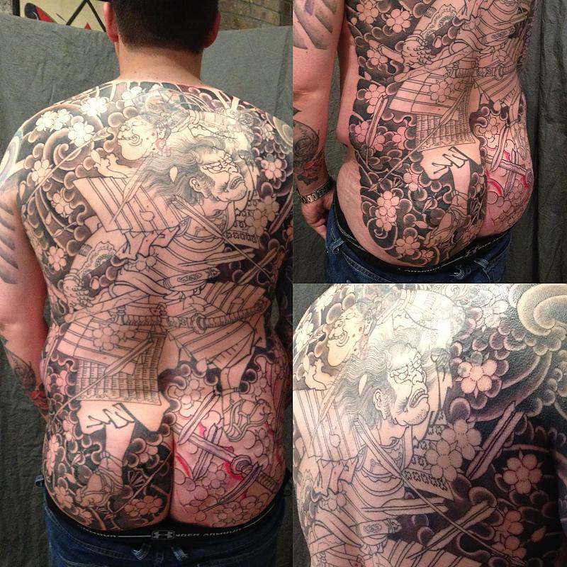Samurai Back Piece