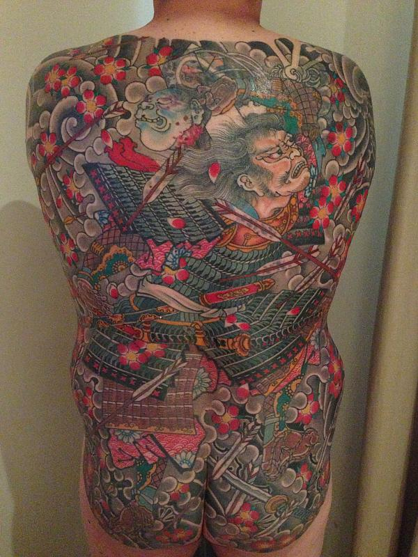 Back-piece from Stewart Robson