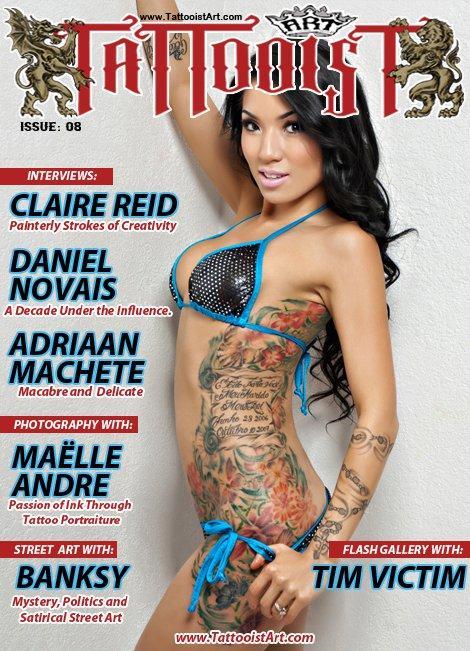 Tattooist Art Magazine  Issue 8