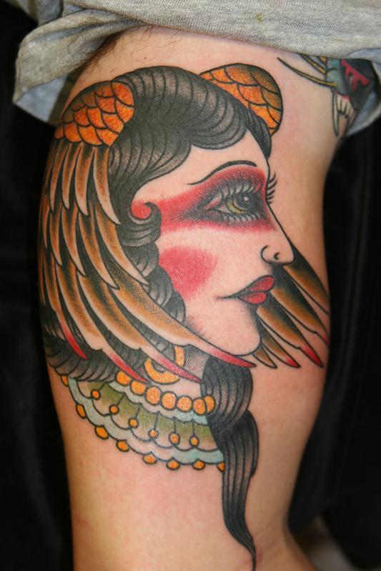 winged women