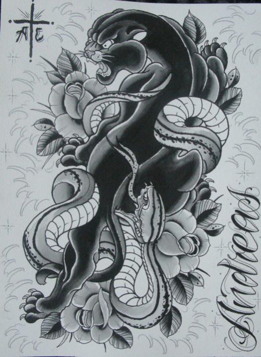 panther snake