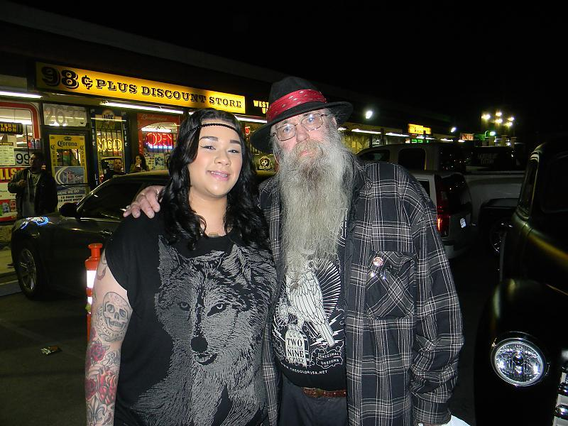 me and Rick Waters