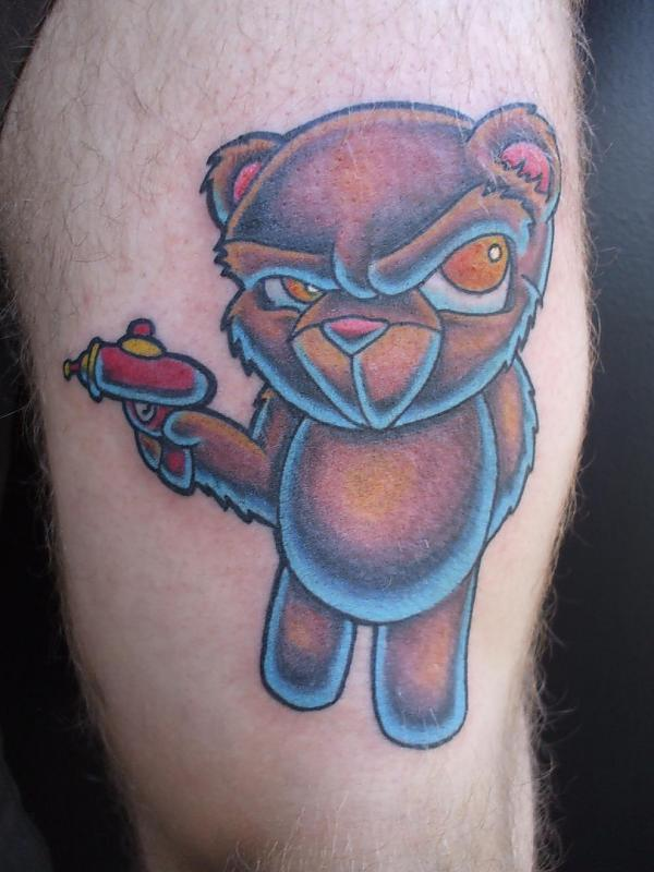 bear billy flip mccoy spike-o-matic tattoo 651 s.park st. madison wi. 53715 608-316-1000 42