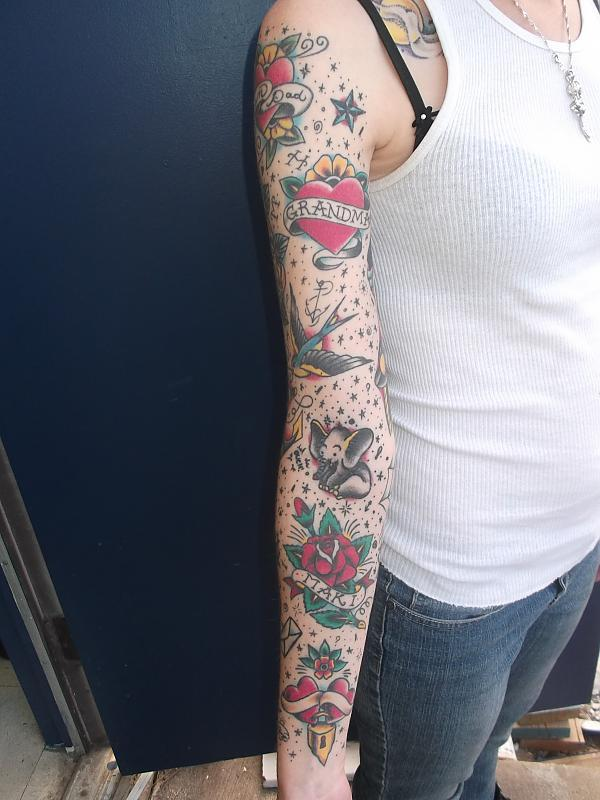 Traditional Sleeve Healed