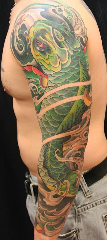 green koi