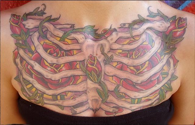 ribs back