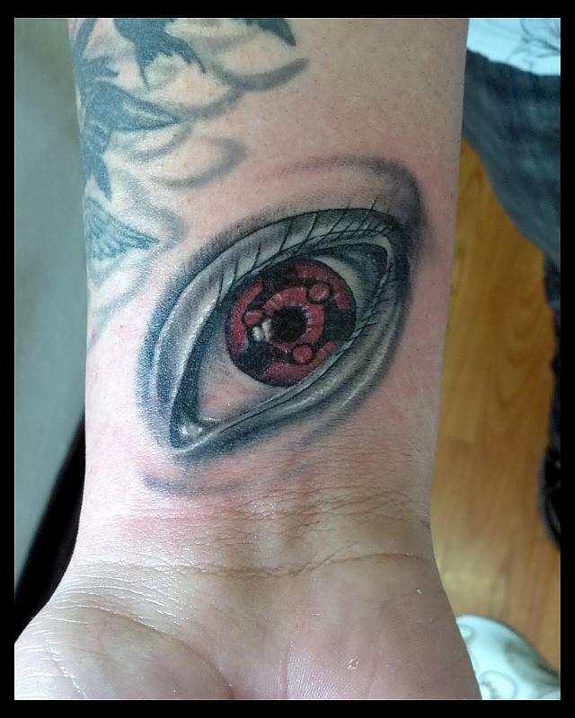Eye on wrist