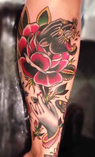 Dobleman Panther Rose