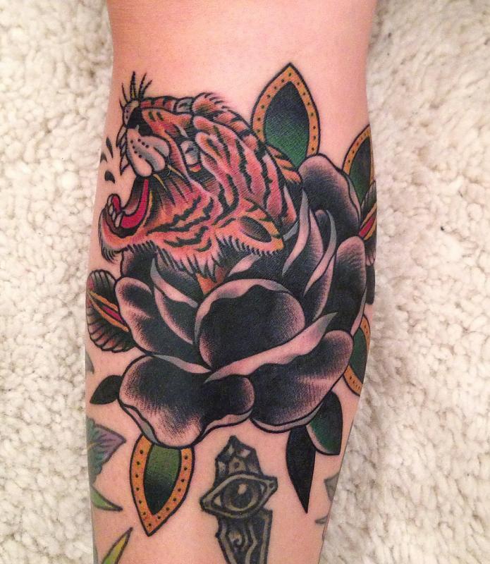 Dobleman Tiger Rose