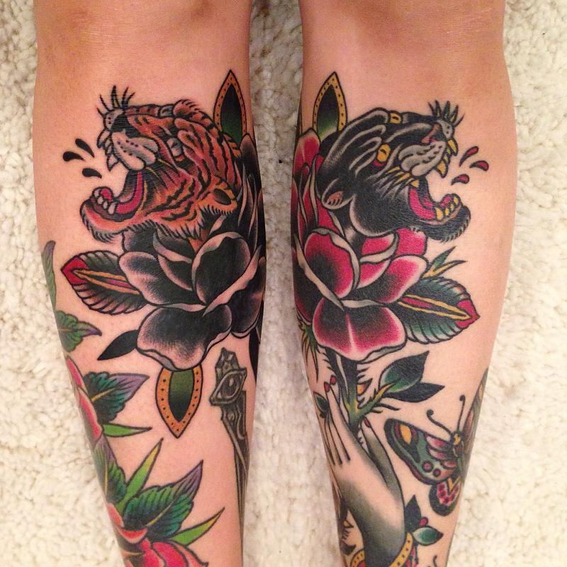 Dobleman Big Cat Rose Set