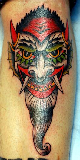 Tattooing Mask