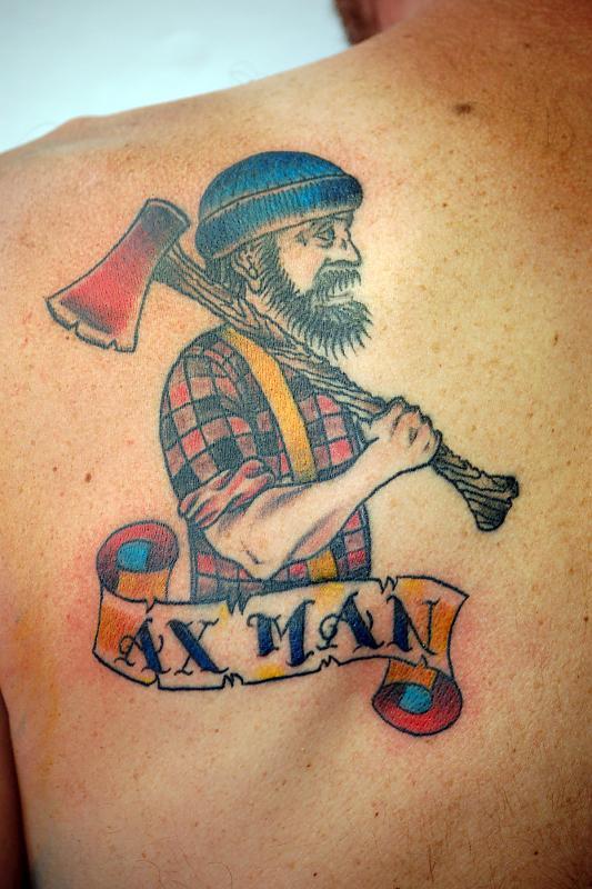 ax man