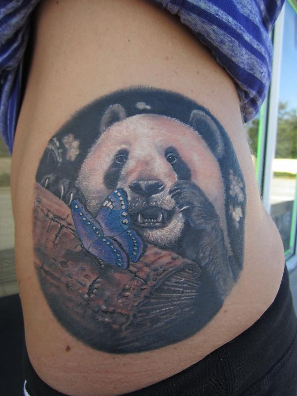 Panda and Butterfly