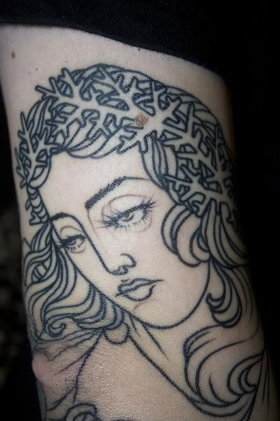 Right Arm Detail 1