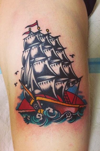 Ship by Stevie Edge