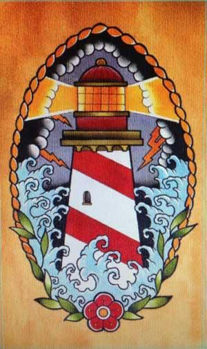 Lighthouse Tattoo Art