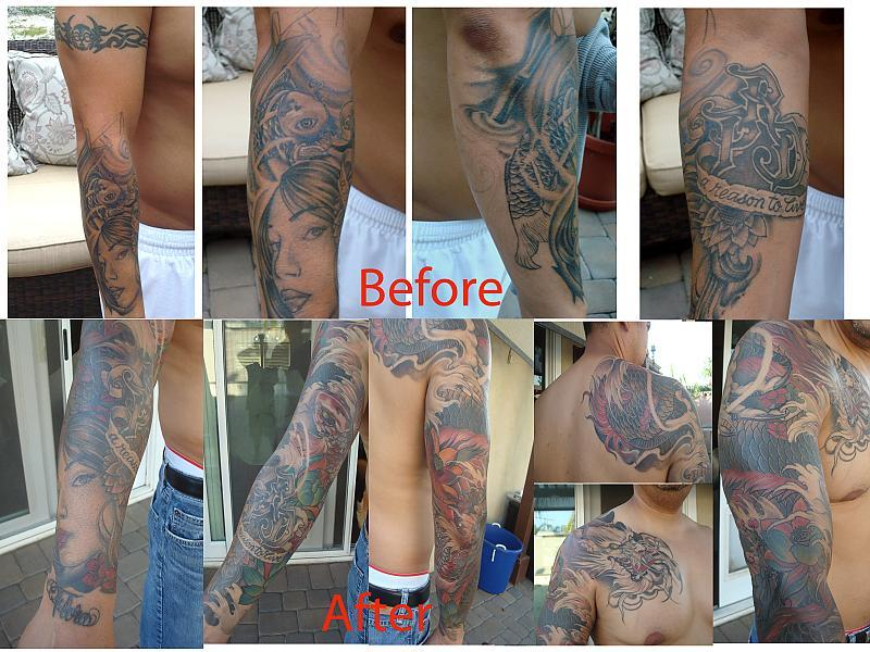 b4 and after