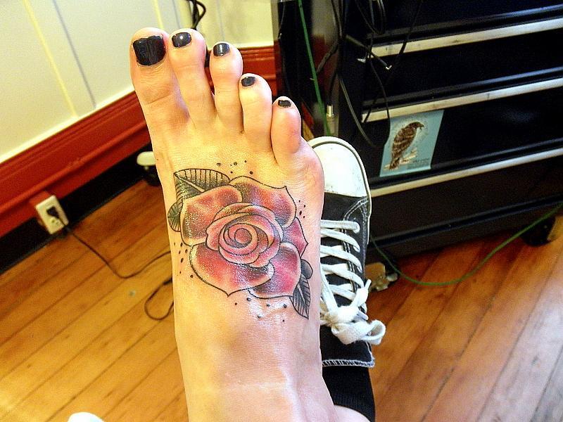 Foot Rose