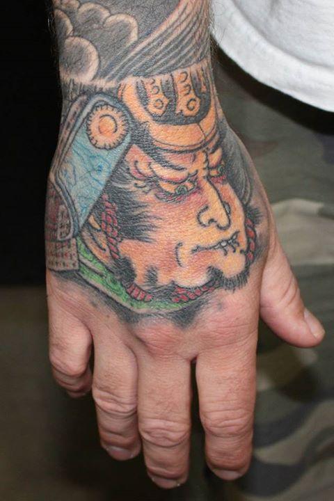 Samurai hand job