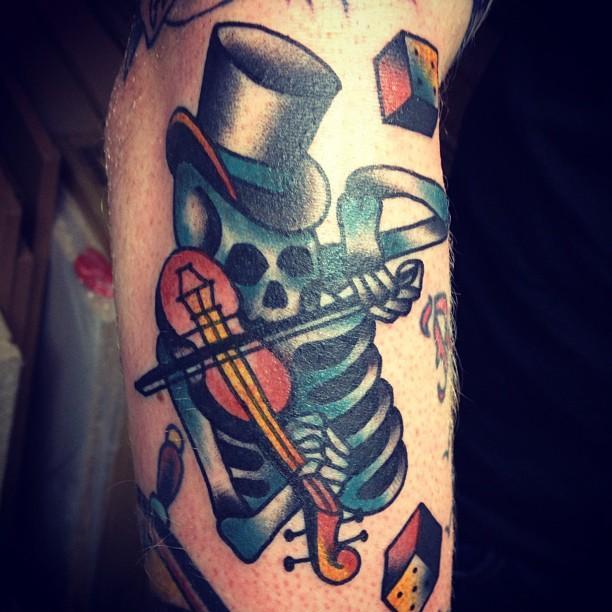 Skeleton Fiddler