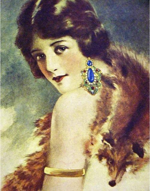 victorian fox lady