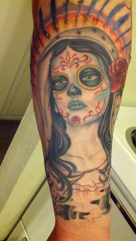 dia de los muertos girl