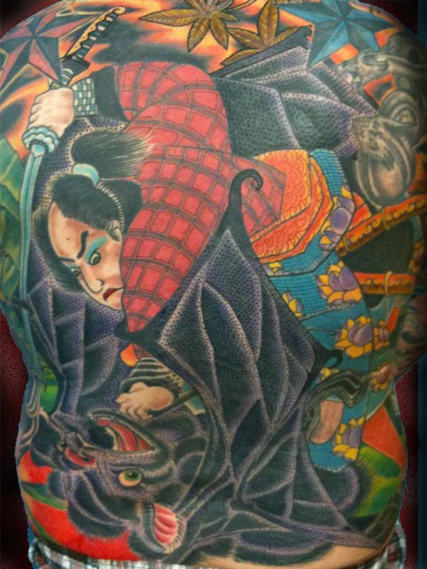 samurai back piece