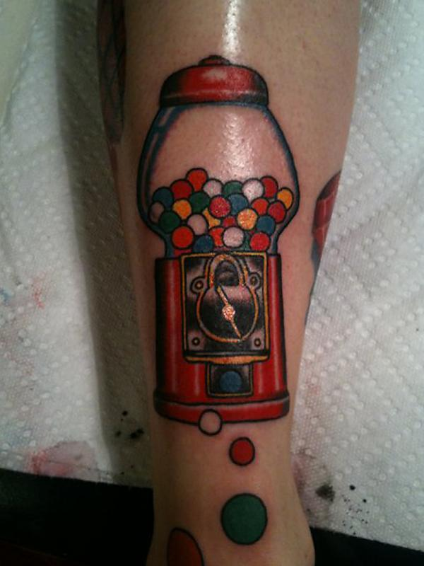 Gumball Tattoo