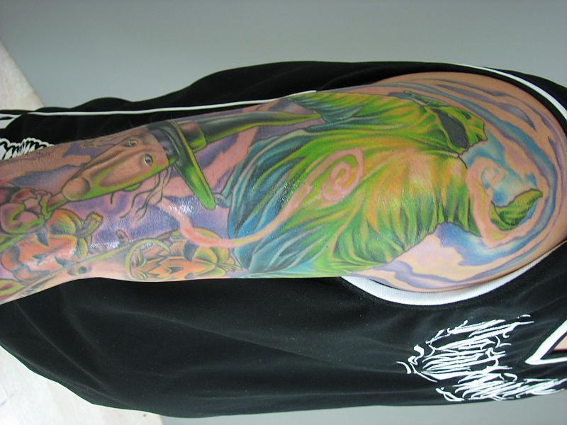 Tim Burton Sleeve